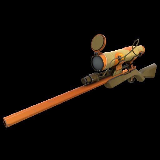 Pumpkin Pied Sniper Rifle