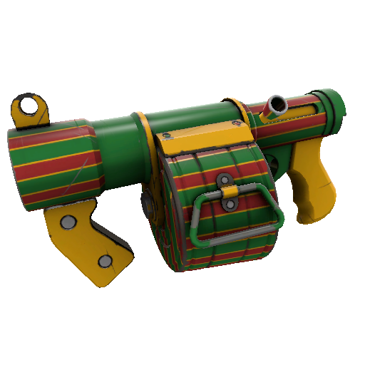 Winterland Wrapped Stickybomb Launcher