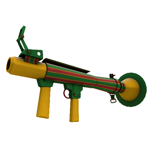 Winterland Wrapped Rocket Launcher