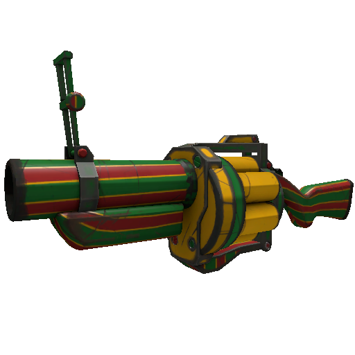 Winterland Wrapped Grenade Launcher