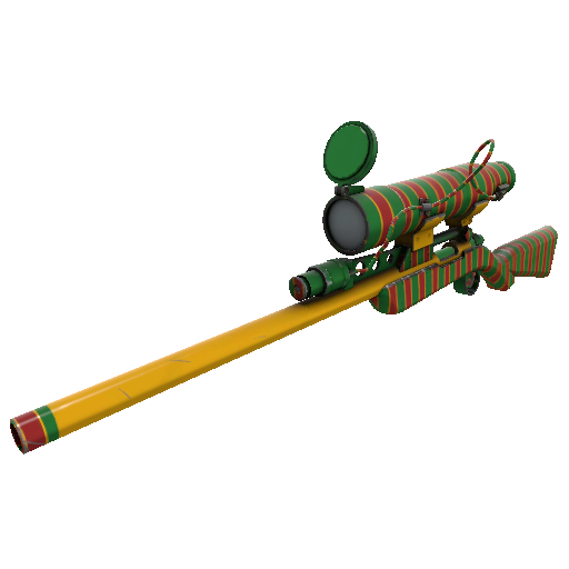 Winterland Wrapped Sniper Rifle