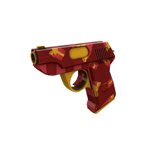 Gift Wrapped Pistol