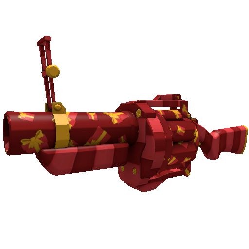 Gift Wrapped Grenade Launcher