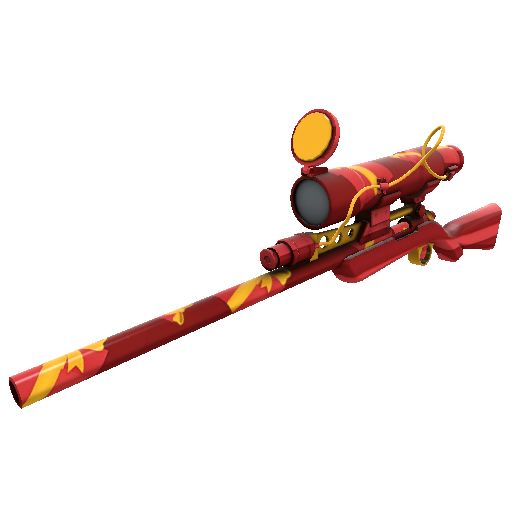 Gift Wrapped Sniper Rifle