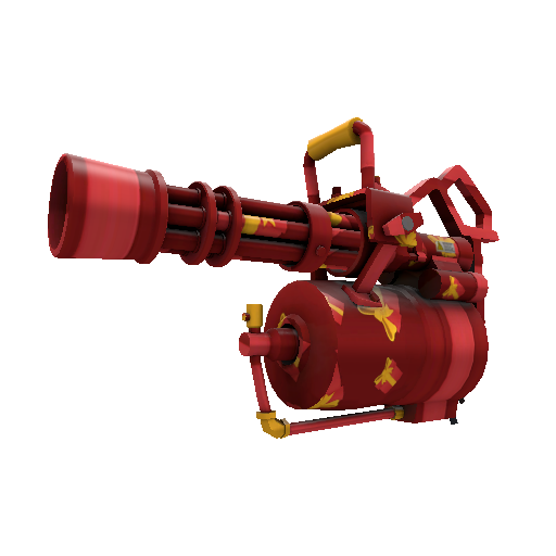 Gift Wrapped Minigun