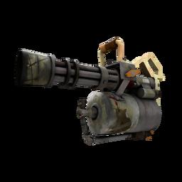 Killstreak Antique Annihilator Minigun (Battle Scarred)
