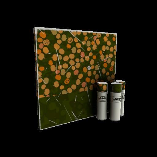 Gourdy Green War Paint (Minimal Wear)