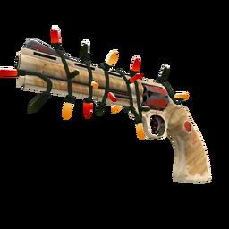 Strange Festive Killstreak Old Country Revolver (Well-Worn)