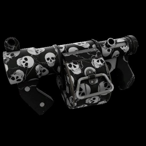 Skull Cracked Stickybomb Launcher
