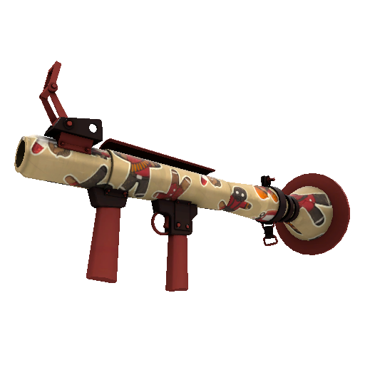 Cookie Fortress Rocket Launcher