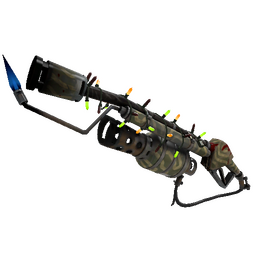free tf2 item Strange Festivized Specialized Killstreak Forest Fire Flame Thrower (Field-Tested)