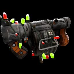 free tf2 item Festivized Sudden Flurry Stickybomb Launcher (Battle Scarred)