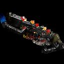 Unusual Festive Warhawk Flame Thrower (Factory New)
