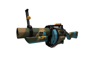 Strange Specialized Killstreak Warhawk Grenade Launcher Minimal Wear