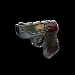 Strange Unusual Blitzkrieg Pistol (Battle Scarred)