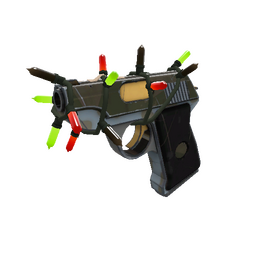 Strange Festivized Specialized Killstreak Blitzkrieg Pistol (Minimal Wear)