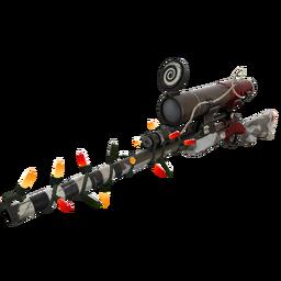 Strange Festivized Specialized Killstreak Airwolf Sniper Rifle (Well-Worn)