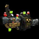 Unusual Festive Butcher Bird Grenade Launcher (Well-Worn)