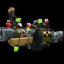 Unusual Festive Specialized Killstreak Butcher Bird Grenade Launcher (Factory New)