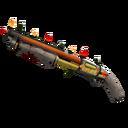 Festive Killstreak Lightning Rod Shotgun (Well-Worn)
