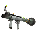 Festive Specialized Killstreak Aqua Marine Rocket Launcher (Well-Worn)