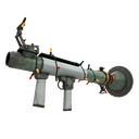Strange Festive Specialized Killstreak Aqua Marine Rocket Launcher (Field-Tested)