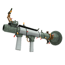 Unusual Festive Professional Killstreak Aqua Marine Rocket Launcher (Factory New)