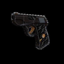 Strange Professional Killstreak Black Dahlia Pistol (Minimal Wear)