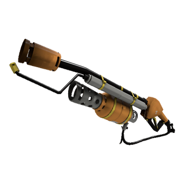 Turbine Torcher Flame Thrower TF2 Skin Preview