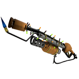 Festive Turbine Torcher Flame Thrower (Factory New)