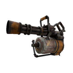Strange Brick House Minigun (Battle Scarred)