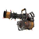 Unusual Festive Professional Killstreak Brick House Minigun (Well-Worn)