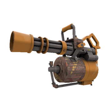Brick House Minigun TF2 Skin Preview