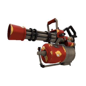 Citizen Pain Minigun TF2 Skin Preview