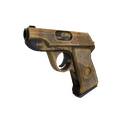 Hickory Hole-Puncher Pistol (Battle Scarred)