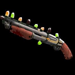 Strange Festive Civic Duty Shotgun (Well-Worn)