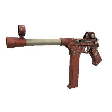 Treadplate Tormenter SMG TF2 Skin Preview