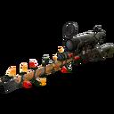Festive Bogtrotter Sniper Rifle (Battle Scarred)
