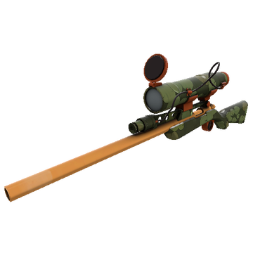 Bogtrotter Sniper Rifle TF2 Skin Preview