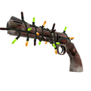 Strange Festive Mayor Revolver (Battle Scarred)