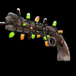 Strange Festive Mayor Revolver (Battle Scarred)