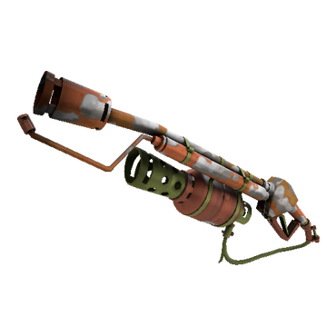 Earth, Sky and Fire Flame Thrower TF2 Skin Preview