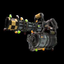 Festive Killstreak Butcher Bird Minigun (Well-Worn)