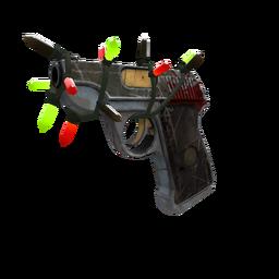 Strange Festive Blitzkrieg Pistol (Well-Worn)