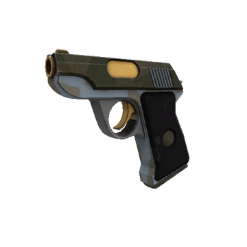 Blitzkrieg Pistol TF2 Skin Preview