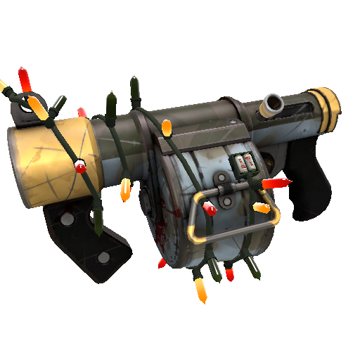 Somewhat Threatening Unusual Killstreak Stickybomb Launcher