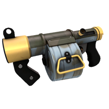 Blitzkrieg Stickybomb Launcher TF2 Skin Preview