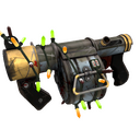 Strange Festive Blitzkrieg Stickybomb Launcher (Battle Scarred)