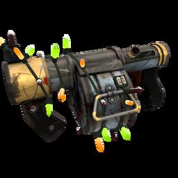 free tf2 item Strange Festive Blitzkrieg Stickybomb Launcher (Battle Scarred)