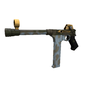 Blitzkrieg SMG TF2 Skin Preview